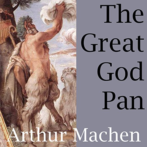 The Great God Pan audiobook cover art