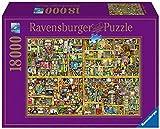 Ravensburger - Puzzle 18000 Piezas, Magical Bookcase (17825)