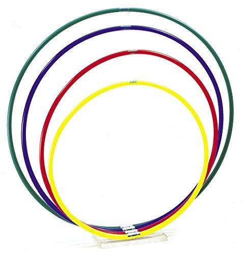 Schiavi Sportart 6021- Aro de gimnasia rítmica, amarillo, cm 60