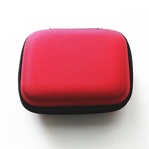 Funda protectora para consola Gameboy Advance SP GBA SP, color rojo