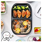 Kyman Indoor Smokeless Barbecue, Hot Pot, elektrische Hot Pot, Non-Stick Pan, Kann Als