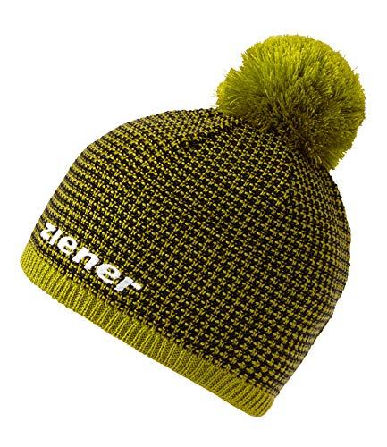 Ziener Erwachsene IMIT hat Bommel-mütze/Warm, Gestrickt, Apple Green, Usex