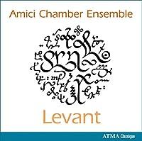ゴリホフ : レヴァント、プロコフィエフ : ヘブライの主題による序曲 Op.34 他 室内楽曲集 (Levant / Amici Chamber Ensemble) [輸入盤]