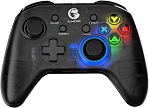 GameSir T4 pro Wireless Bluetooth Game Controller for Windows 7 8 10 PC/iOS/Android/Switch, Rechargeable Dual Shock USB Ga...