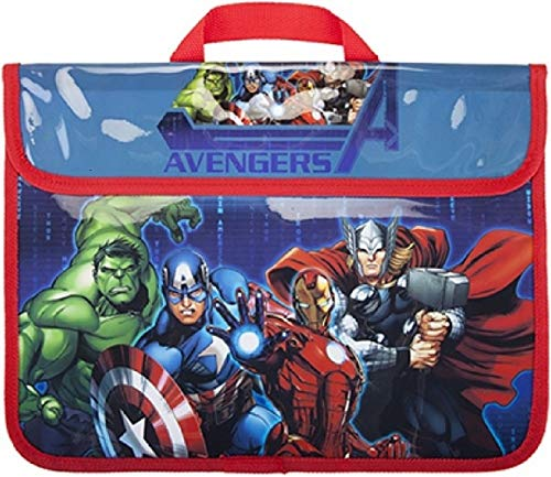 Marvel Avengers Book Bag School Document Despatch Bag