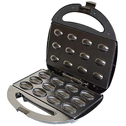 Elektrische-Backform-Elektrische-Walnuss-Kuchenmaschine-Automatische-Mini-Nuss-Waffelbrotmaschine-Sandwich-Eisen-Toaster-Backfruehstuecksofen