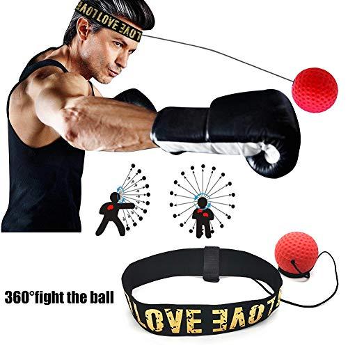 Mayyou Boxen Reflex Geschständlich Schlag Ball MMA Sanda Boxer Arbeiten Reaktionskraft Hand Augen Gehört Set Stress Gym Boxen Muay Thai Übung