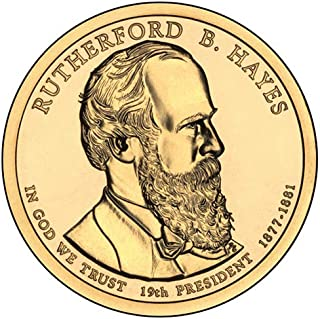 rutherford b hayes dollar coin 1877
