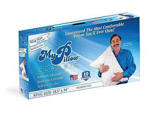 MyPillow Classic Bed Pillow [King, Medium]