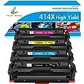 4-Pack True Image Compatible Toner Cartridge Replacement