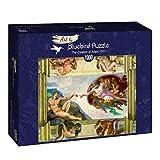 Puzzle Michelangelo La Creación de Adán 1000 Piezas