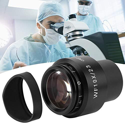 𝐂𝐡𝐫𝐢𝐬𝐭𝐦𝐚𝐬 𝐆𝐢𝐟𝐭 Microscope Eyepiece, GWF004 WF10X/23 Microscope Wide Angle Eyepiece Ocular Eyepoint Lens Adjustable Wide Field 30mm