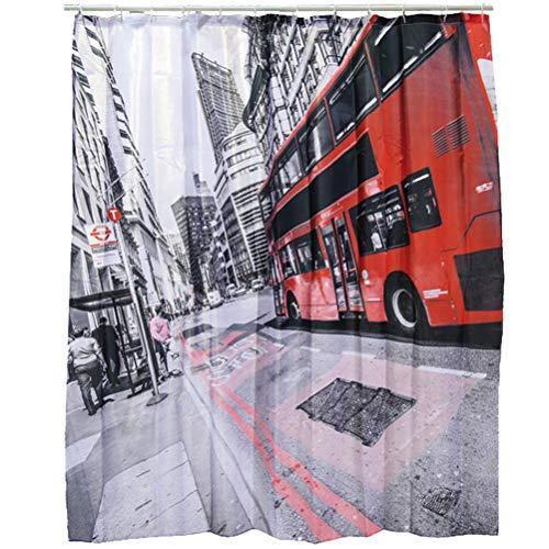 Duschvorhang »London« Kunststoff 180 x 180 cm