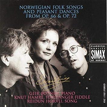 Grieg: Norwegian Folk Songs and Peasant Dances from Op.66 & Op.72