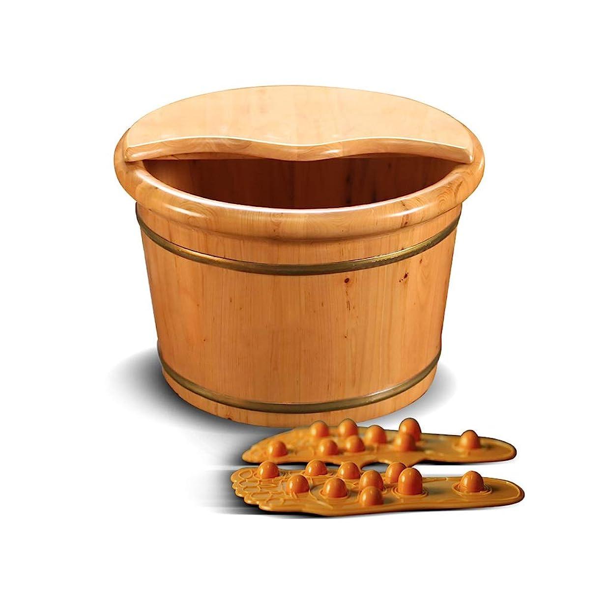 ウルルすでに雹木製サウナバケツ,防水 防漏足浴桶,使用簡単 おしゃれ サウナバケッ,ト滑らかい 繊細 手作り