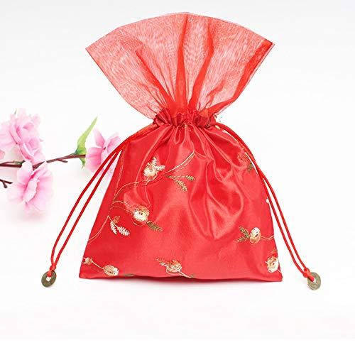 ChenTeShangMao Sachet - Beutel Leere Beutel, Mückenschutz Beutel Lavendel Trockene Blumen Leerer Beutel/Schmuckbeutel/Geschenkbeutel 16 * 22cm, Atmungsaktiv Dicht Gute Qualität