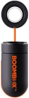 Boombox V3 Rechargeable Vibration Speaker (Black/Orange)
