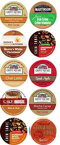 10 Cup HOLIDAY Celebration Limited Edition Single Serve Cups. Fall Favorites! 2.0 compatible