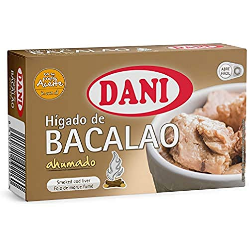 Dani - Hígado de bacalao ahumado - Pack 5 x 120 gr.