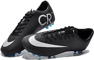 Lissay Shoes Mens Black Mercurial Vapor Superfly IIII vapor X AG Football Soccer Boots