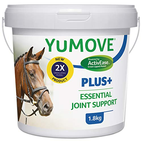 Lintbells YuMOVE Plus Horse Double Strength Joint Supplement for Horses and Ponies, All Ages and Breeds | Tub, 1.8 kg