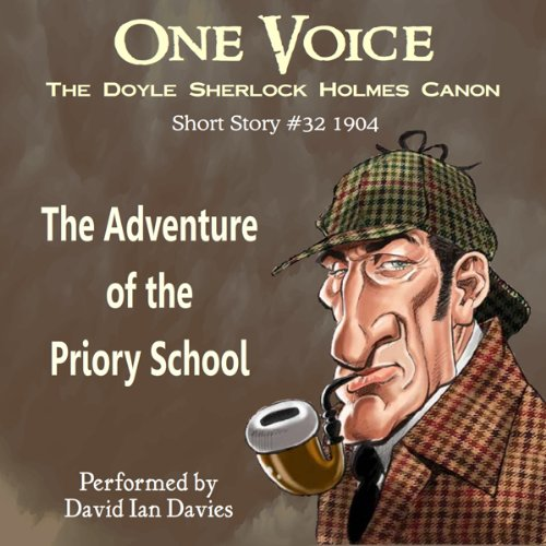 The Adventure of the Priory School audiobook cover art