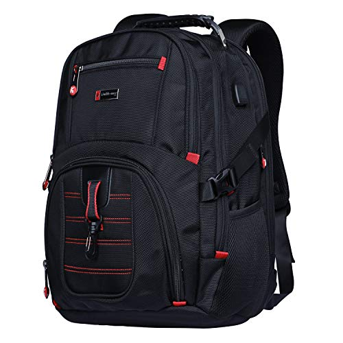 YUHENG Extra Large Backpack Big 17 Inch Laptop College School Students Bag Travel Business Hiking for Men