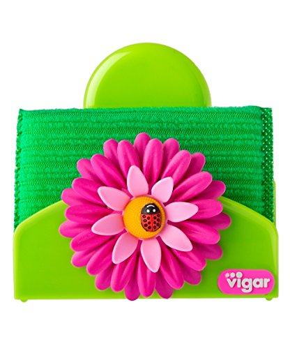 Vigar Flower Power Sponge Holder With Suction Pad 5 Inches By 2 3 4 Inches Pink Green Buy Online In Dominica At Dominica Desertcart Com Productid 23795618