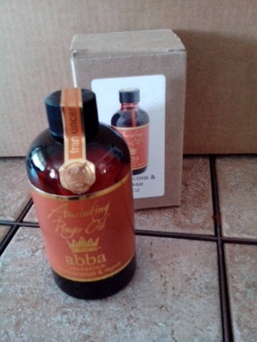 Anointing Oil - Frankincense & Myrrh - 8 Oz