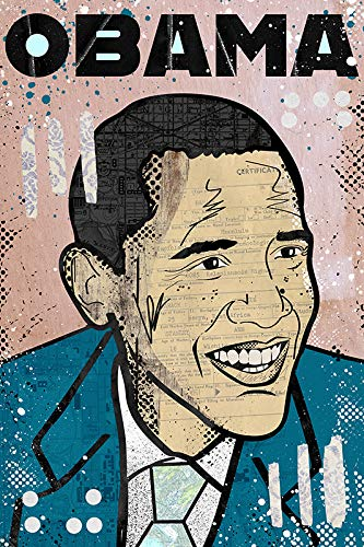 Barack Obama Poster - Pop Art/Birth Certificate/POTUS/President/History/America/Politics/Made in the USA/Signed by Artist