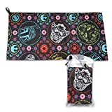 Maijinbu Star Wars Camping Towel-Ultra Soft Compact Quick Dry Microfiber Best Fitness Beach Hiking Yoga Travel Sports Backpacking & The Gym Fast Drying & Free Bonus Washcloth Hand Towel