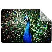 エリアラグ軽量 孔雀の羽 フロアマットソフトカーペットチホームリビングダイニングルームベッドルーム