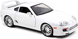 Jada Toys Fast & Furious Toyota Supra 1:18 Diecast Vehicle, White