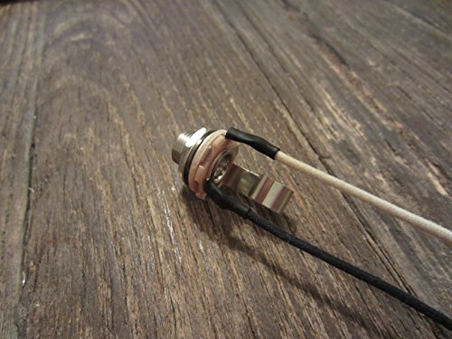 Pre-Wired Switchcraft #11 Jack for Guitar