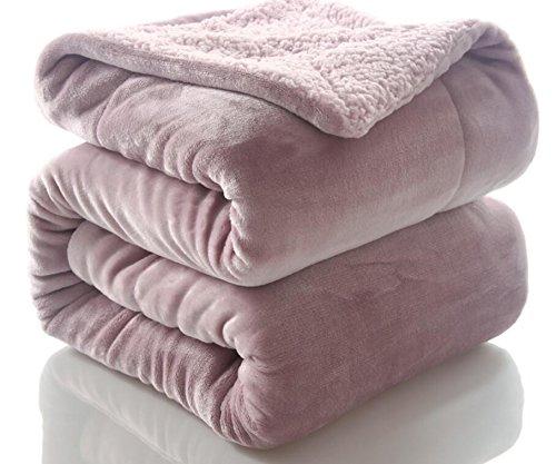Doppelte Decke Schlafzimmer Wohnzimmer Warme Decke Klimaanlage Decke, 150 X 200 cm, Pink