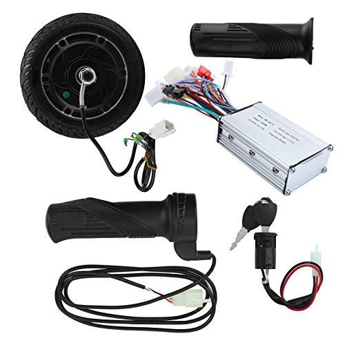 01 Kit de conversión de Scooter eléctrico, Juego de conversión de Scooter eléctrico Profesional DIY Duradero de Metal, Accesorio de Scooter eléctrico para Scooter eléctrico DIY de 8 Pulgadas