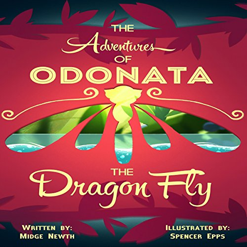 The Adventures of Odonata, the Dragonfly audiobook cover art