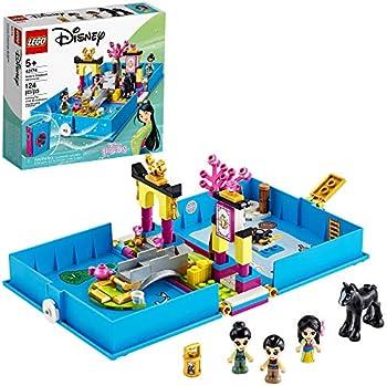 124-Piece LEGO Disney Mulan's Storybook Adventures Creative Building Kit