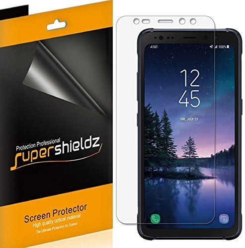 Price comparison product image Supershieldz (6 Pack) for Samsung (Galaxy S8 Active) (Not Fit for Galaxy S8 Model) Screen Protector,  High Definition Clear Shield (PET)