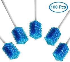 MUNKCARE سواب دهان و دندان یکبار مصرف 100 کالری آبی
