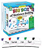 Key Education Big Box of Word Chunks—Puzzle Game for Beginning Readers, Sight Words, Word Families, Digraphs, Color-Coded Letter Puzzle Pieces, Ages 6+ (220 pc)
