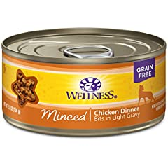 MINCED CHICKEN IN GRAVY: Made with natural ingredients, this tasty, gain free Minced Chicken in Ample Gravy add variety to your cat's diet and provide an additional source of water for healthy hydration SUPERIOR INGREDIENTS: All of our wet cat food r...
