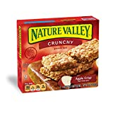 Nature Valley Granola Bars, Crunchy, Apple Crisp, 6 Pouches - 1.5 oz, 2-Bars Per Pouch