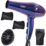 2300W Ionic Hair Dryer Professional Hairdryers with Diffuser CONFU Salon Powerful Blow Dryer