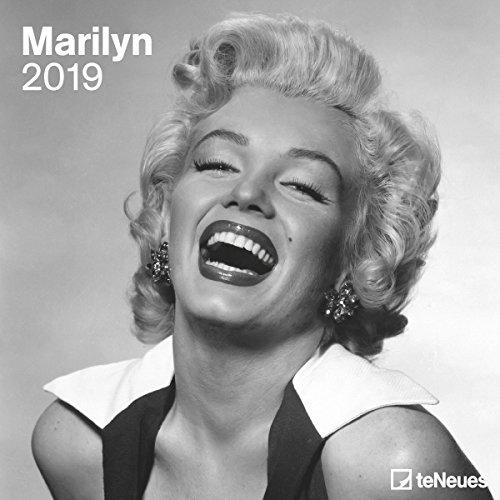 Marilyn - Broschurkalender - Kalender 2019 - teNeues-Verlag - Wandkalender mit Fotos der Monroe und Platz für Eintragungen - 30 cm x 30 cm (offen 30 cm x 60 cm)