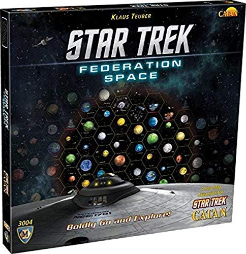 [UK-Import] Star Trek Catan Federation Space Map Set