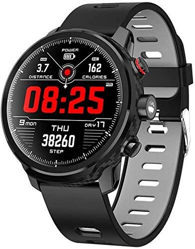 Hartslagmeter Smart Horloge IP68 Waterdichte Stappenteller Horloge Stap Counter Slaap Monitor Voor Kinderen Vrouwen Mannen