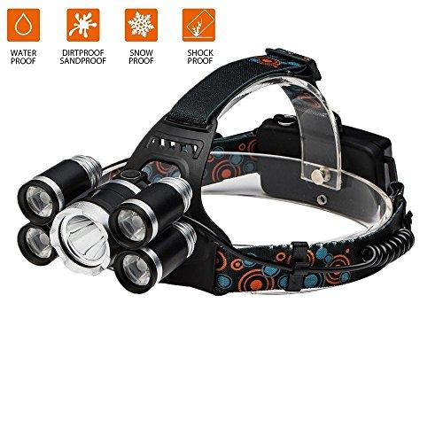 10W IR Infrarot Sensors XML T6 5000LM USB Nacht Stirnlampen Kopflampe 2*18650