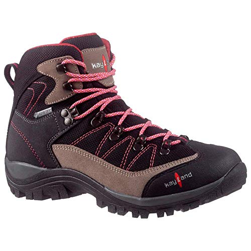 Kayland Shoes Men Hiking Ascent K W'S GTX Bleck-Magenta - 40