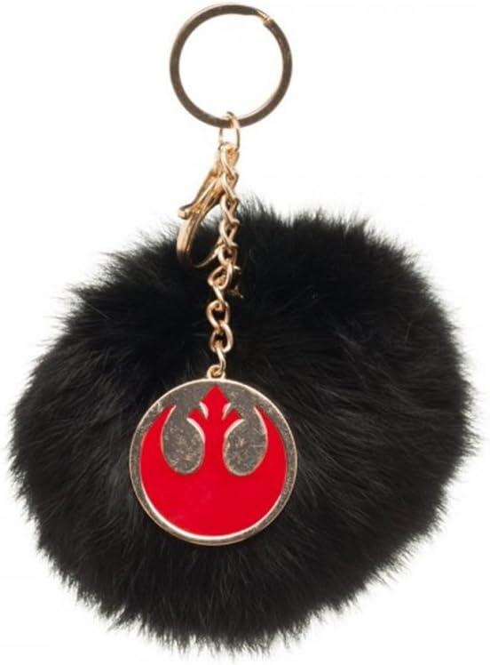 Star Wars Key Chain Furry Pom Pom Handbag Charm hk4aaystw